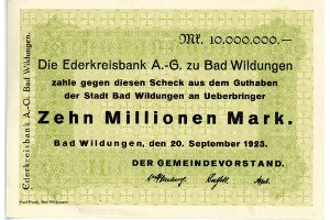 10 Mio. Mark Paul Pusch, Bad Wildungen   avers.jpg